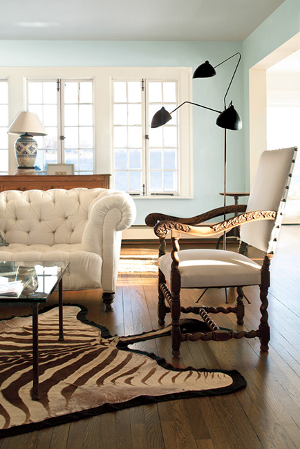 Tinta sala de estar dellacor tons neutros2 tintas dellacor - Good paint colors for small living rooms ...